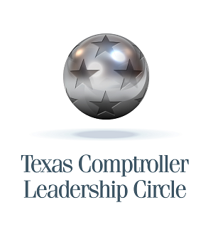 Texas Comptroller Leadership Circle logo