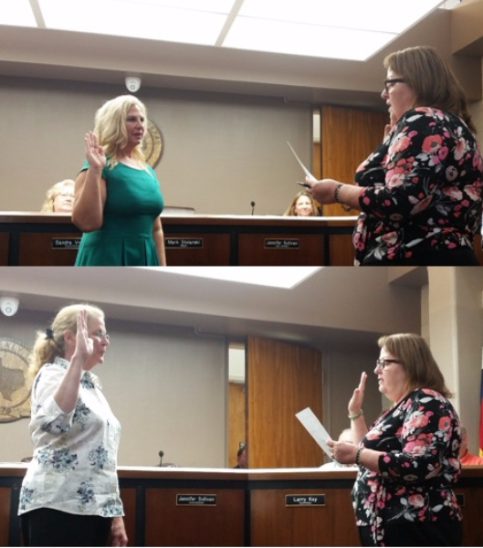 Newly elected officials, Councilwoman Dee Anne Lerma (top) and Mayor Janice Whitehead (bottom), were sworn in on May 9, 2017. The City congratulates you on being elected to represent the citizens of Sealy and looks forward to working with you.